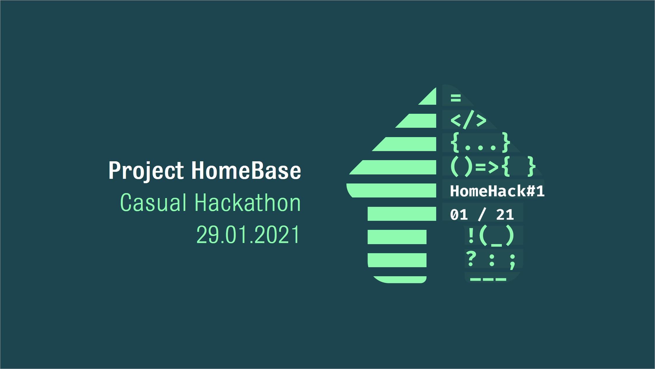"Hackathon ""HomeHack#1"""